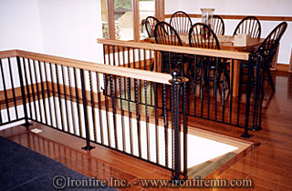 Home Interior Rail.